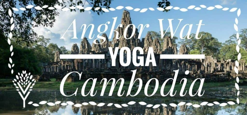 Cambodia Yoga Photo: Angkor Wat Tour Guide