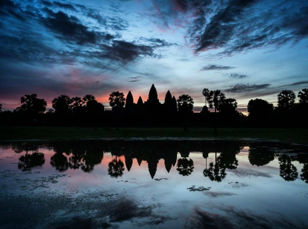 Angkor Wat Sunrise Cambodia Yoga Photo: Angkor Wat Tour Guide 3