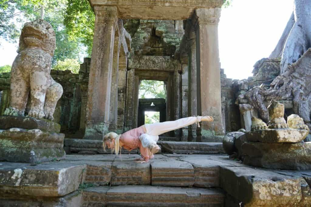 Yoga Cambodia Yoga Photo: Angkor Wat Tour Guide 6