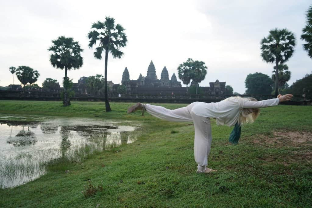 Cambodia Yoga Photo: Angkor Wat Tour Guide 3