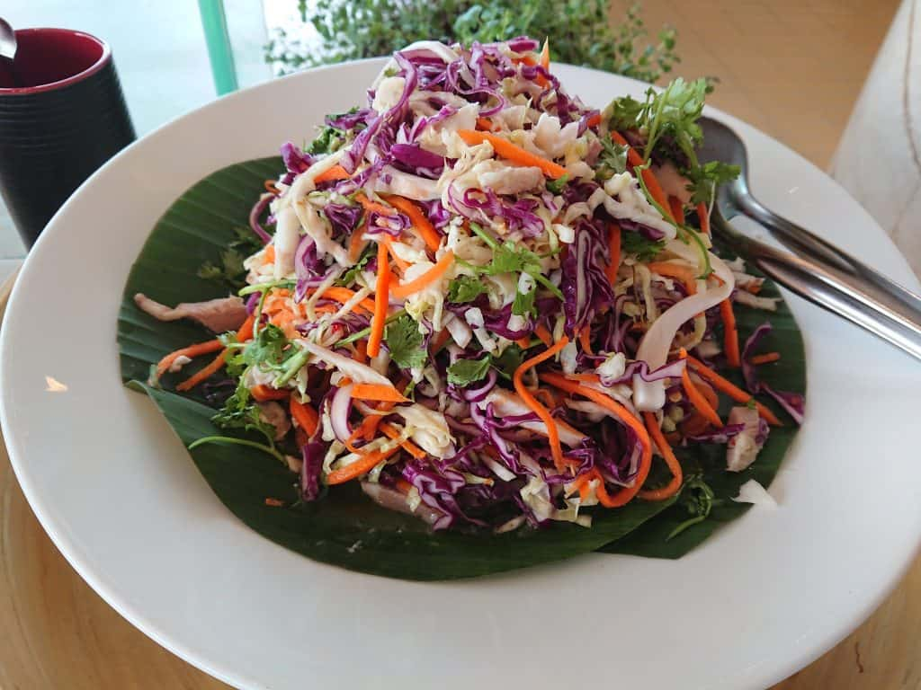 Cambodian Purple Cabbage Salad