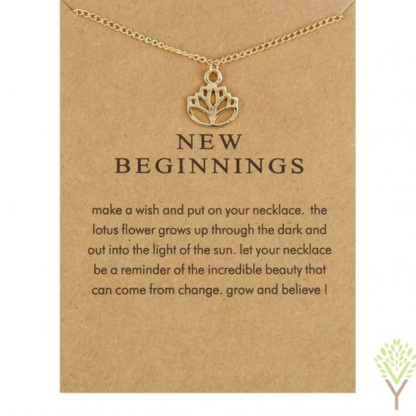 New Beginnings Gold Necklace 2