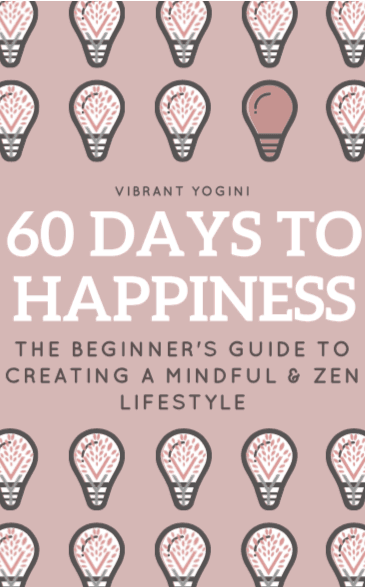 60 Days to Happiness Ebook Cover