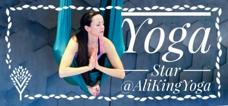 YOGA STARS INTERVIEW WITH: ALI KING [AliKingYoga]