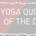 yoga quote of the day header