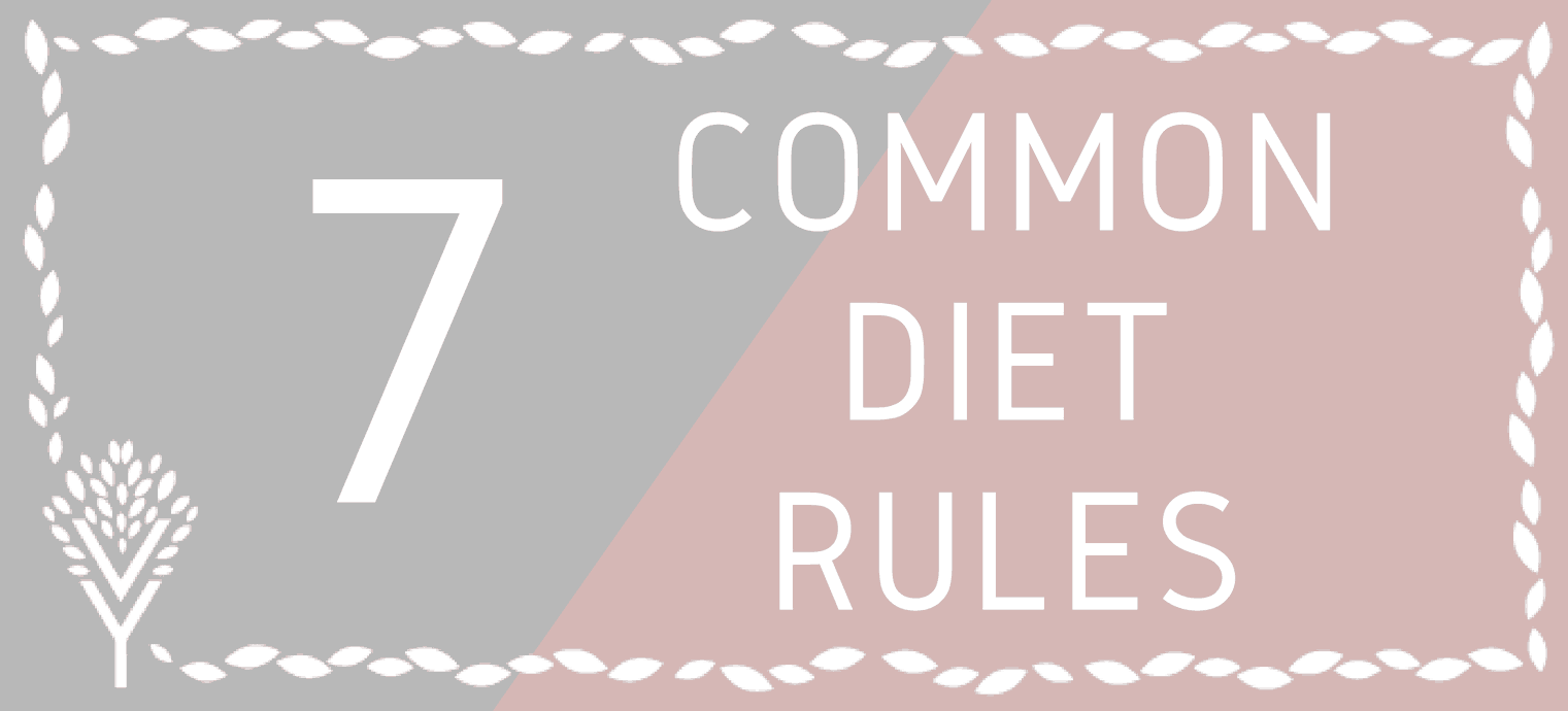 7 common diet rules header