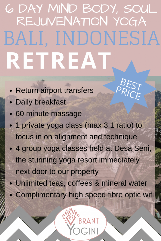 Affordable Yoga Retreats In Bali