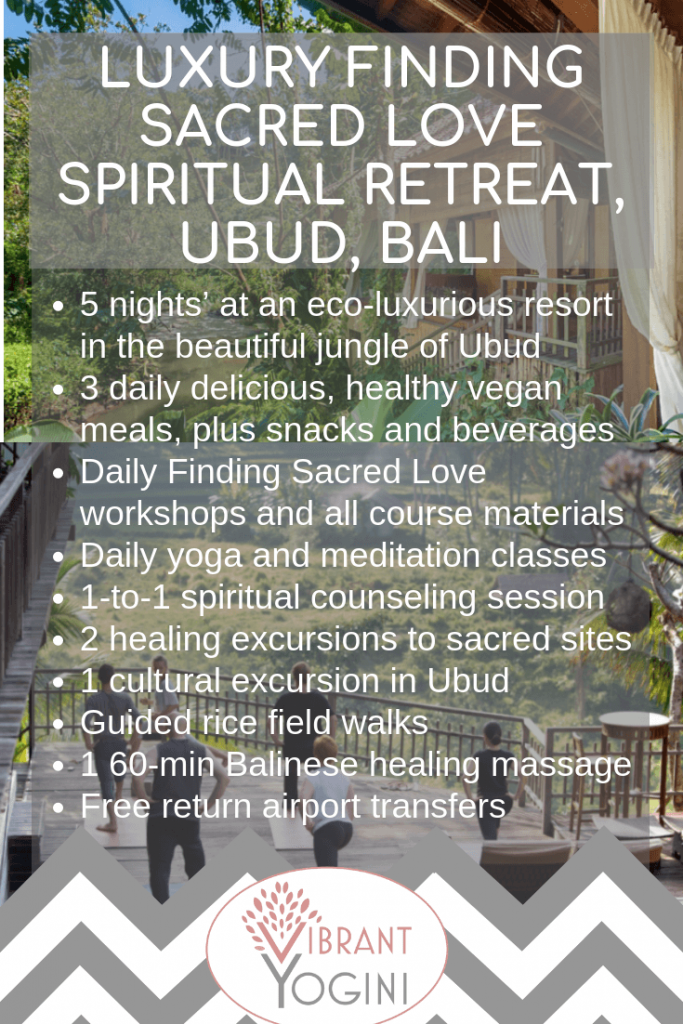 Spiritual retreat Bali