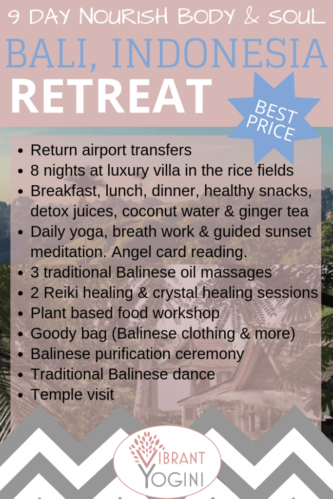 luxury yoga retreat Bali