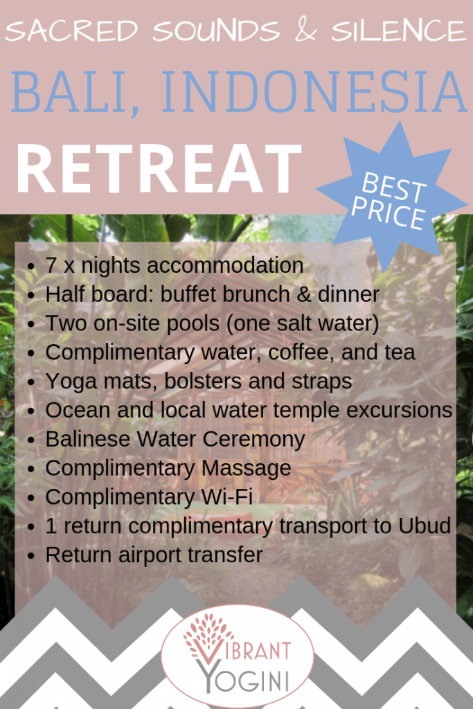 spiritual retreats in Bali