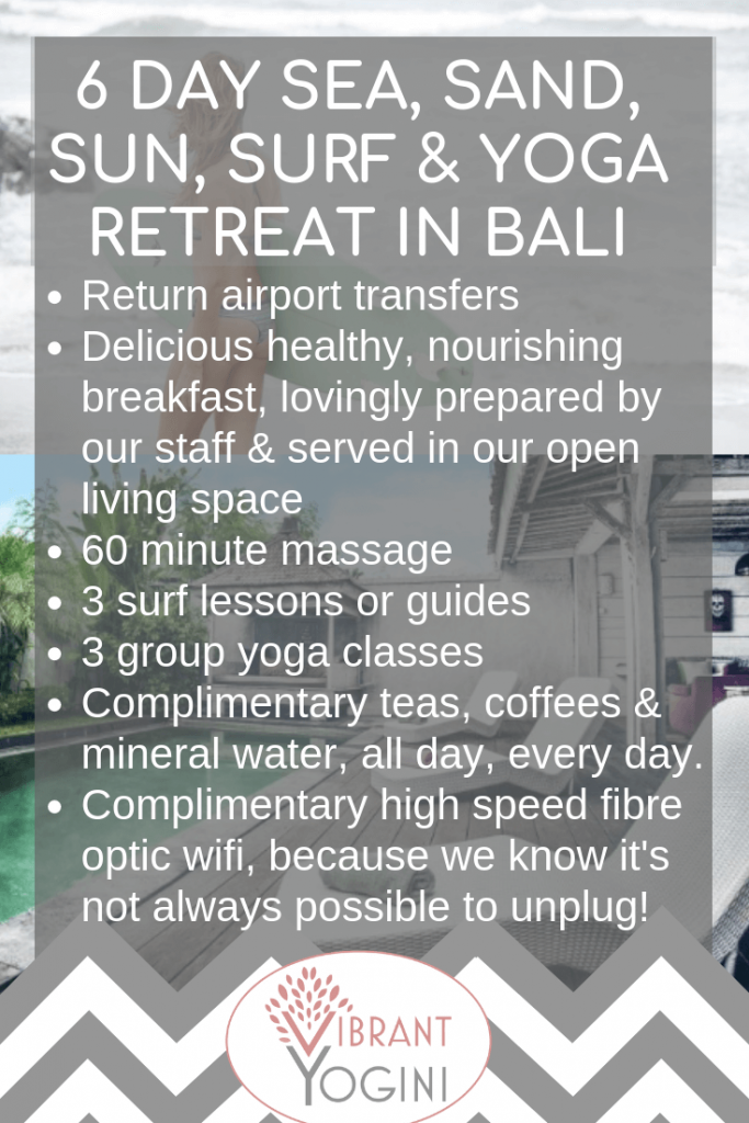 Surf Yoga Retreats in Bali