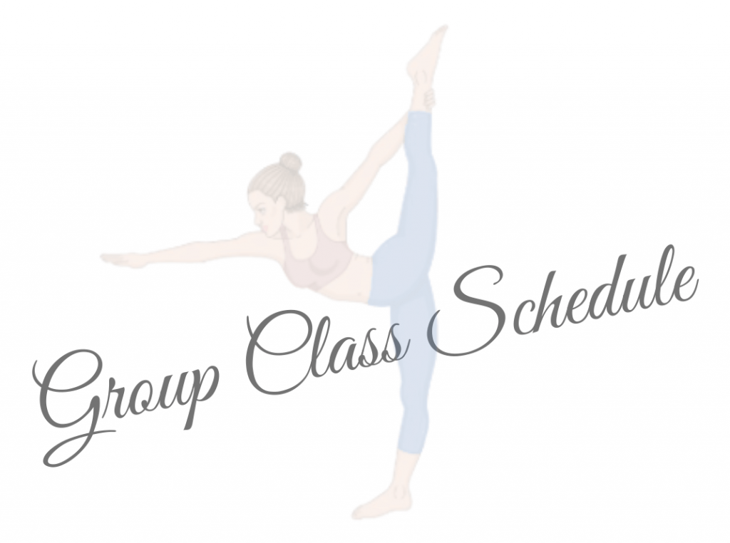 See Group Yoga Class Schedule